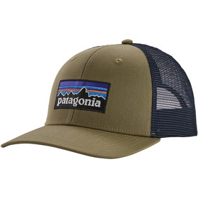 Patagonia P-6 Logo Trucker Hat sage khaki